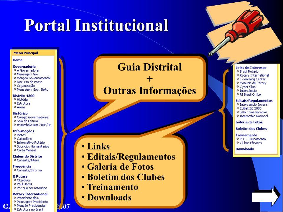 Guia Distrital + Outras Informações