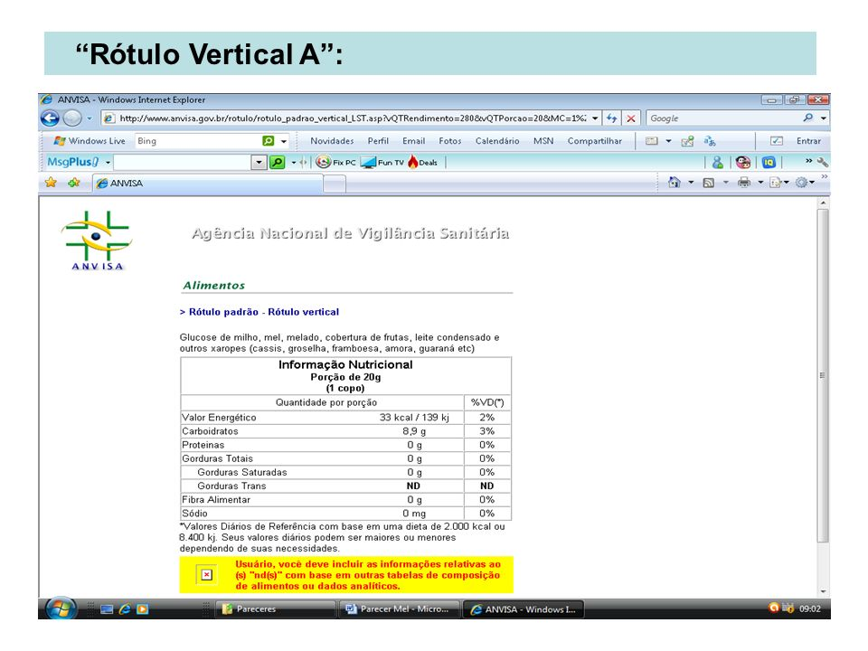 Rótulo Vertical A :