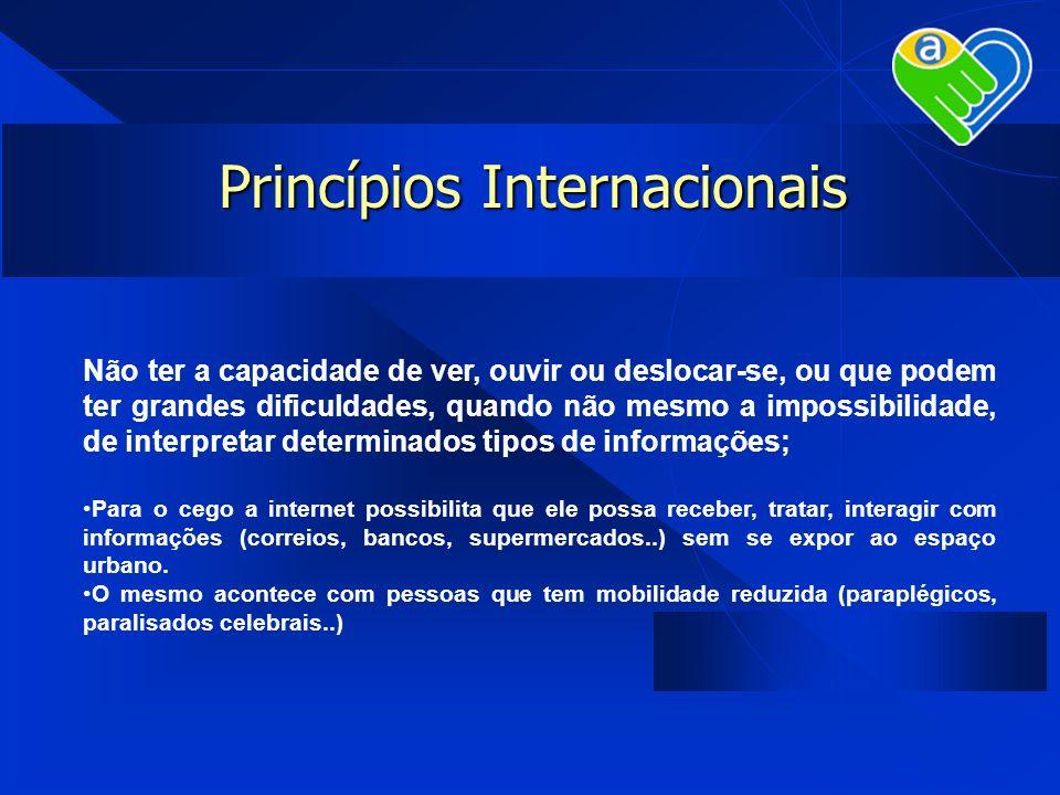 Princípios Internacionais