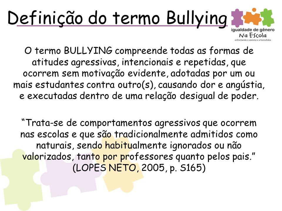 Definição do termo Bullying