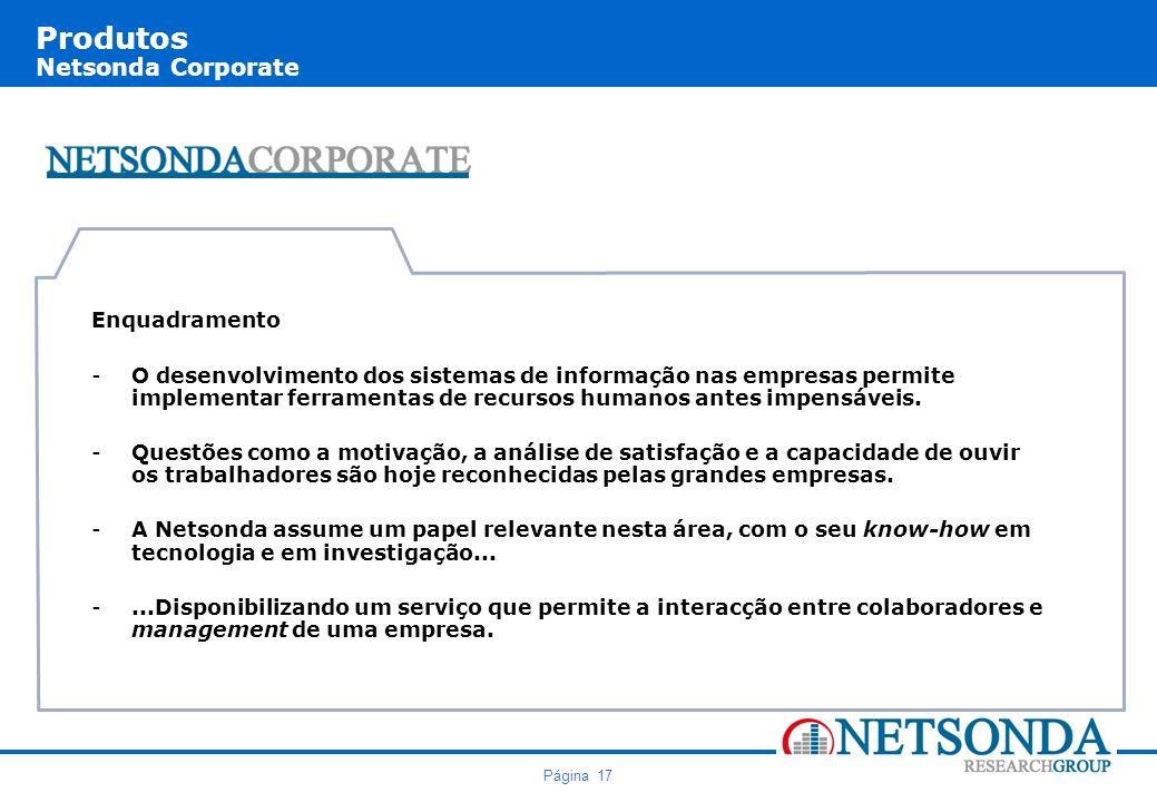 Produtos Netsonda Corporate