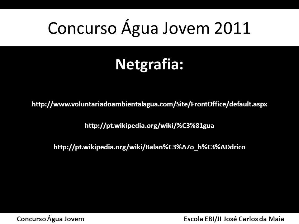 Concurso Água Jovem 2011 Netgrafia: