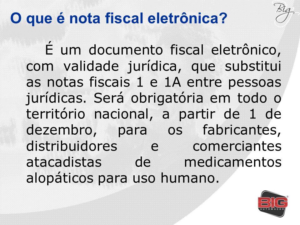 O que é nota fiscal eletrônica