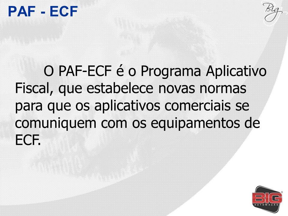 PAF - ECF