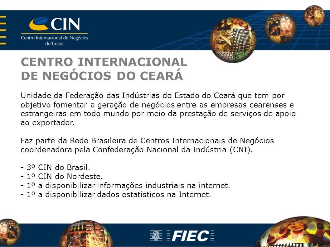 CENTRO INTERNACIONAL DE NEGÓCIOS DO CEARÁ
