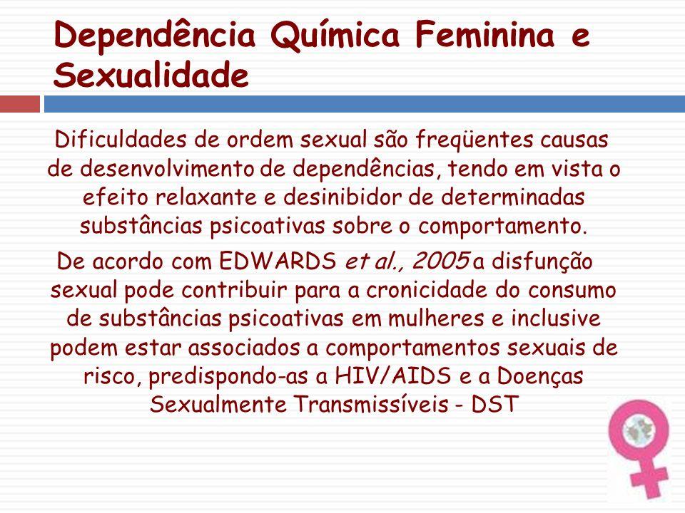 Dependência Química Feminina e Sexualidade