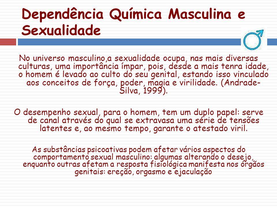 Dependência Química Masculina e Sexualidade