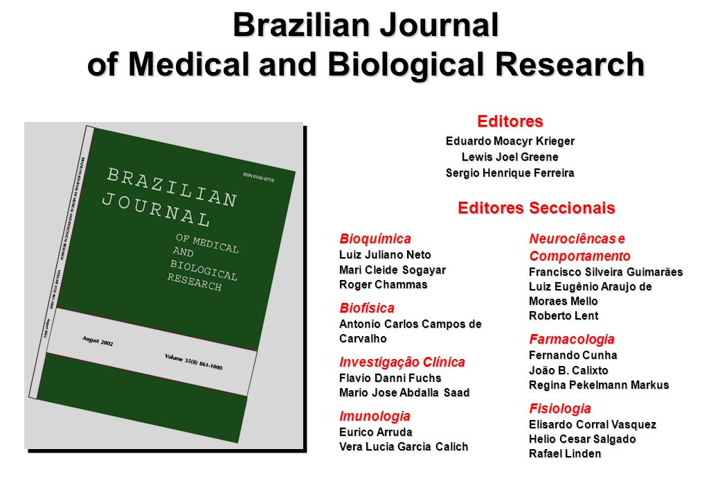 Brazilian Journal of Medical and Biological Research