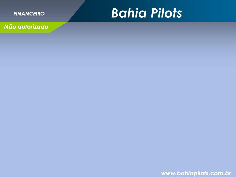 Bahia Pilots FINANCEIRO Não autorizado www.bahiapilots.com.br