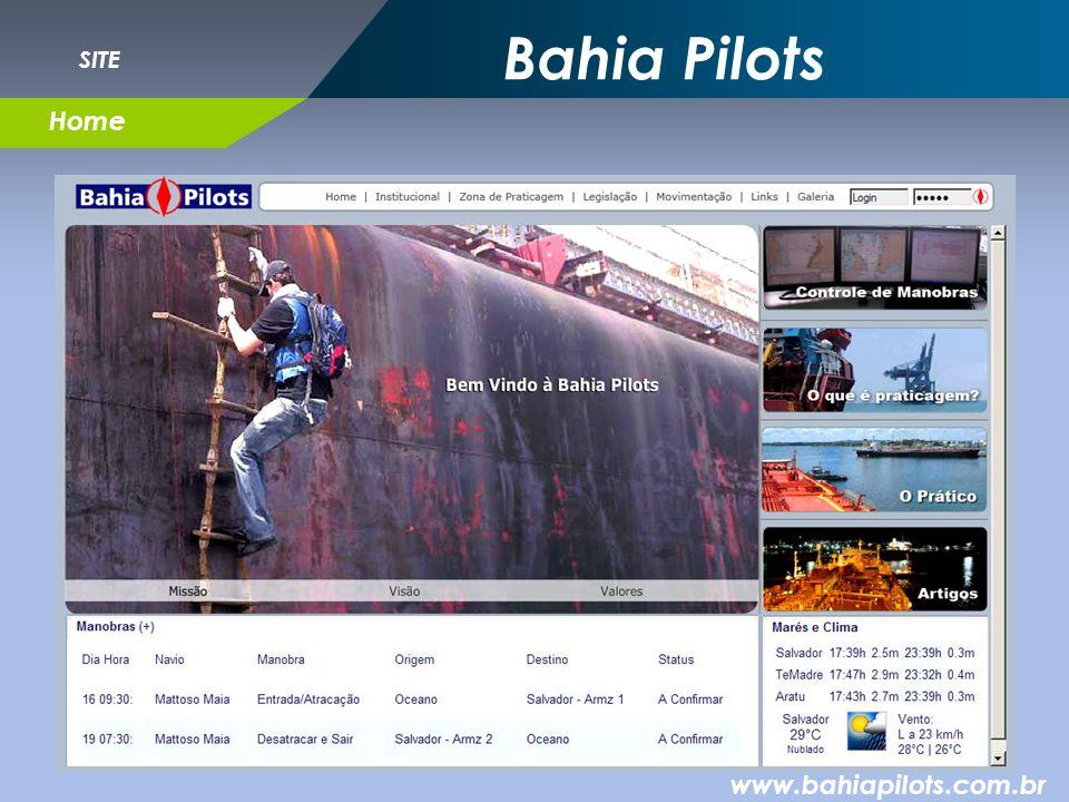 Bahia Pilots SITE Home www.bahiapilots.com.br