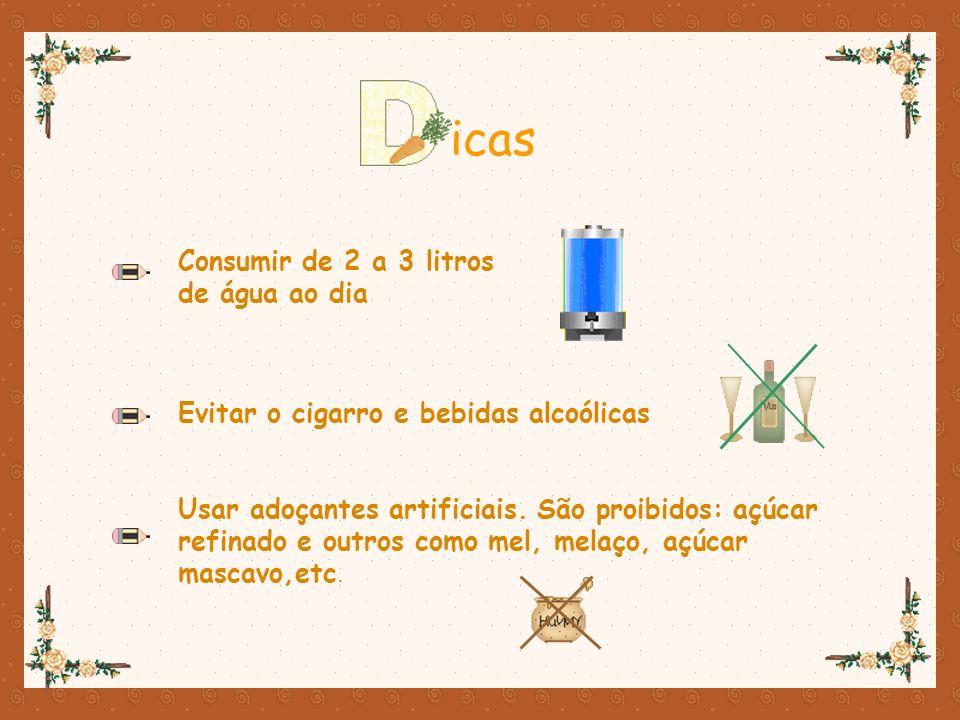 icas Consumir de 2 a 3 litros de água ao dia