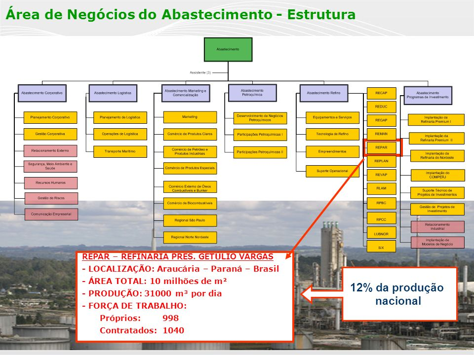 A fim de acompanhar as mudanças no cenário da Petrobras nos últimos 10 anos e contribuir para o alcance da visão 2020...