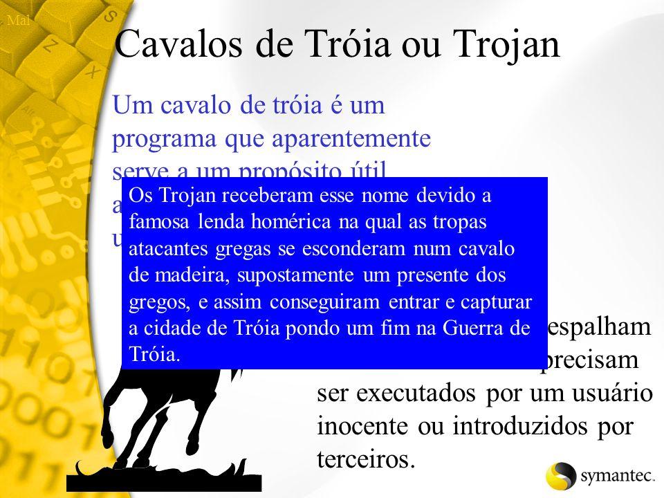Cavalos de Tróia ou Trojan