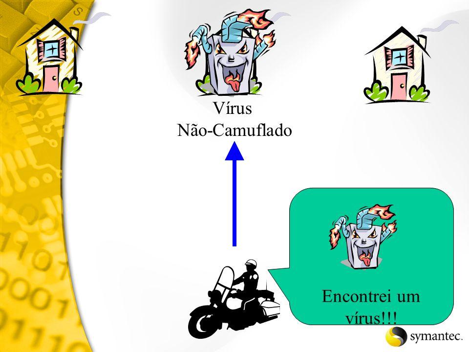 Vírus Não-Camuflado Encontrei um vírus!!!