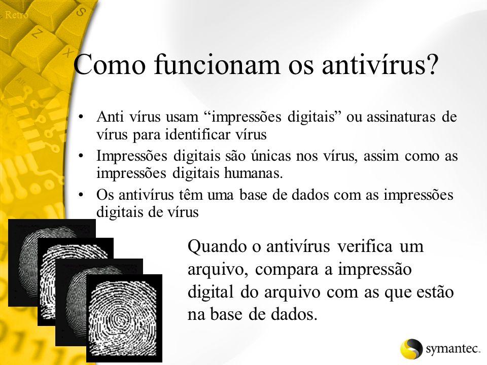 Como funcionam os antivírus