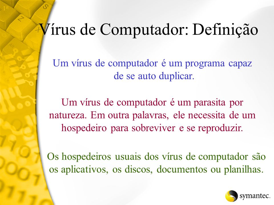 Vírus de Computador: Definição