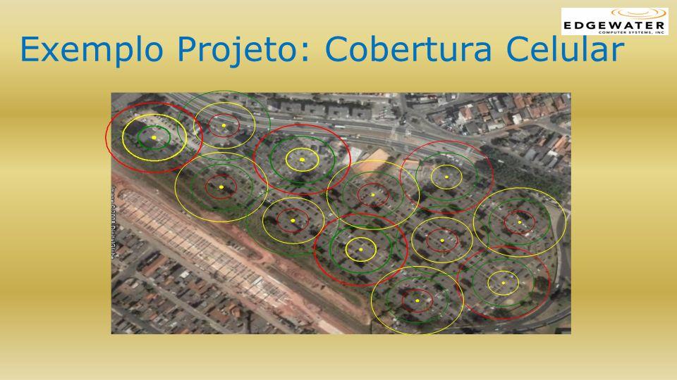 Exemplo Projeto: Cobertura Celular