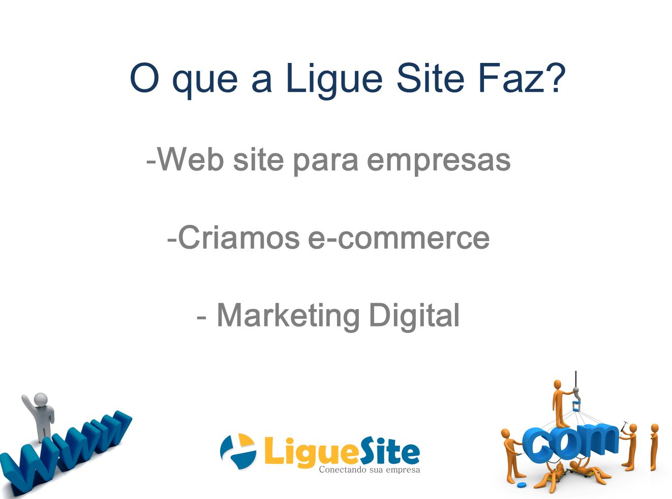 Do Papel à internet O que a Ligue Site Faz
