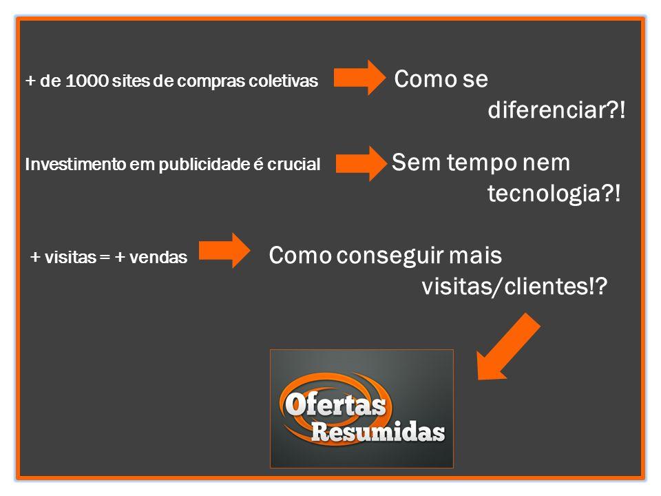 + de 1000 sites de compras coletivas Como se. diferenciar