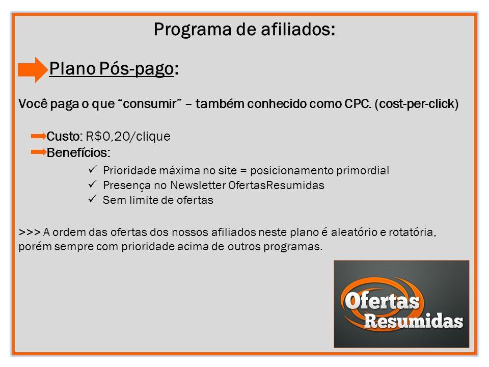 Programa de afiliados: