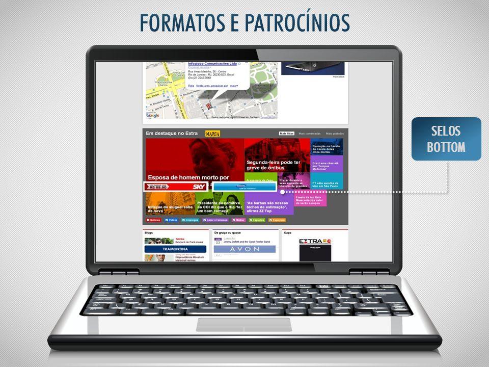 FORMATOS E PATROCÍNIOS