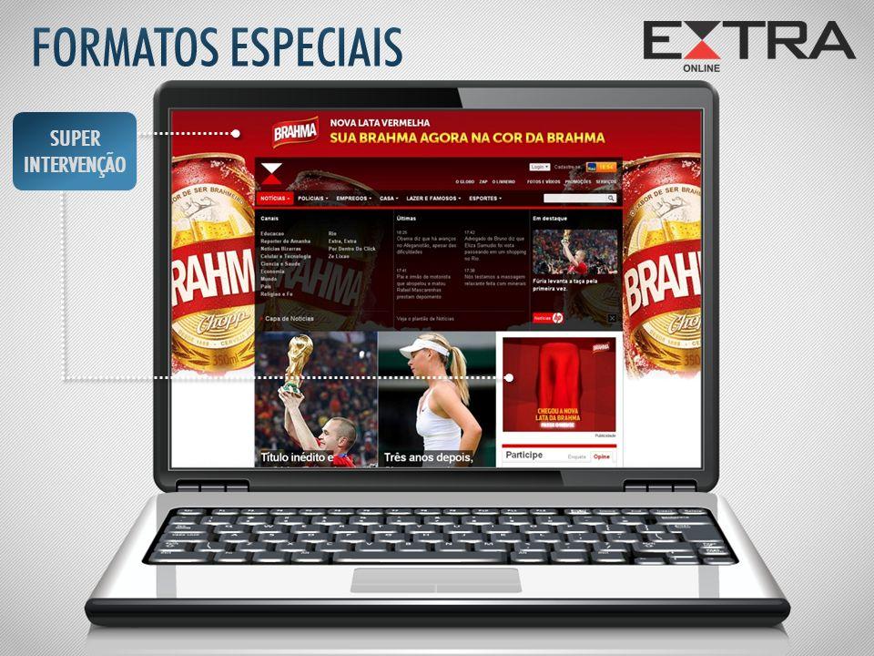 FORMATOS ESPECIAIS SUPER INTERVENÇÃO
