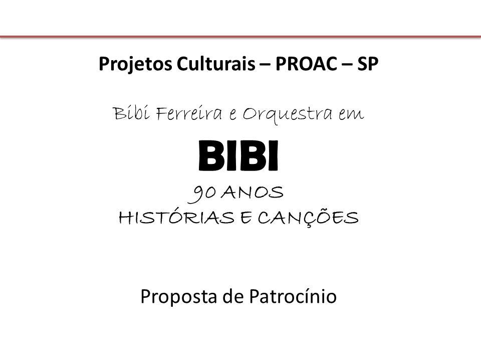 Projetos Culturais – PROAC – SP