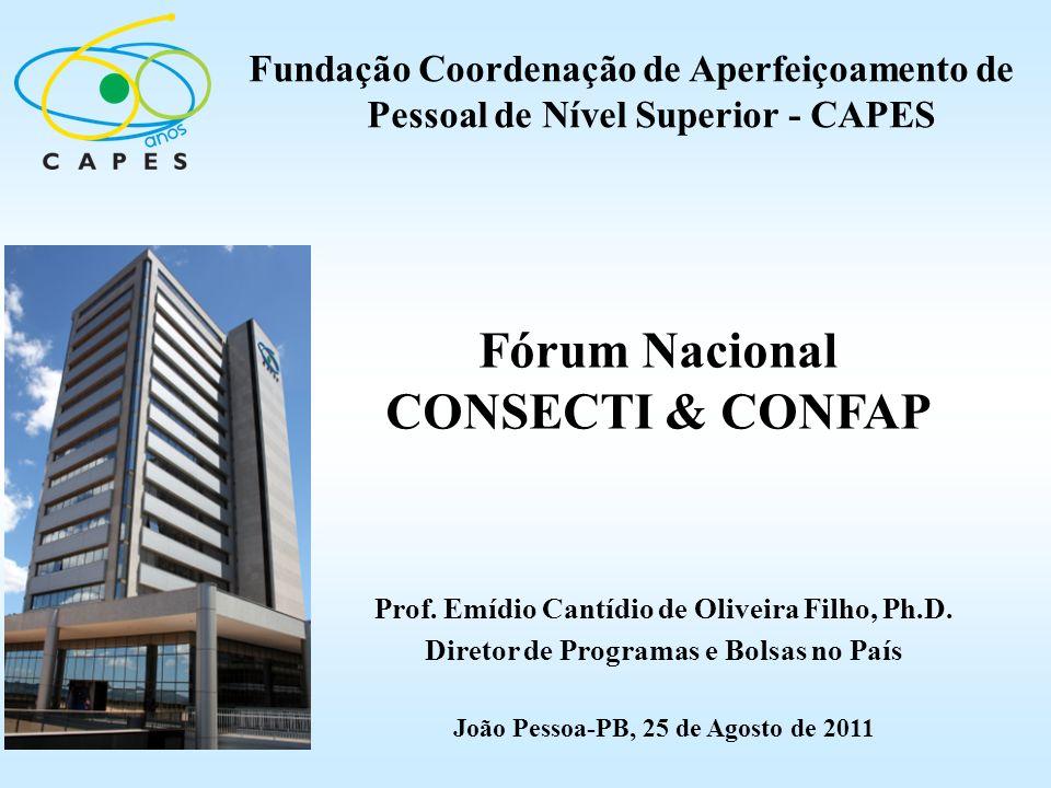 Fórum Nacional CONSECTI & CONFAP