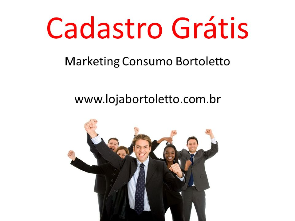 Marketing Consumo Bortoletto www.lojabortoletto.com.br