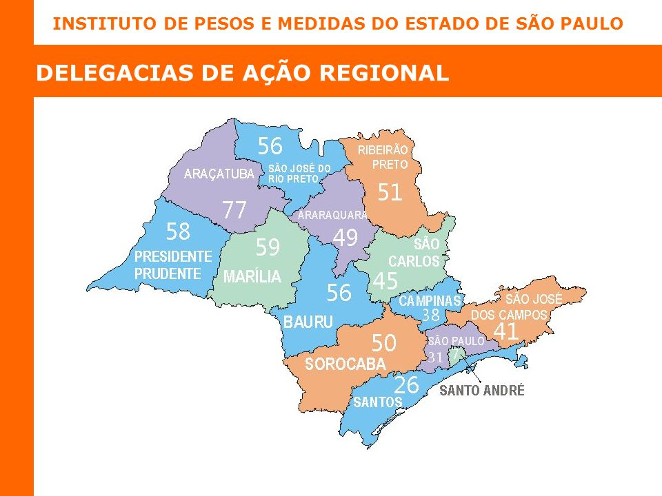 DELEGACIAS DE AÇÃO REGIONAL