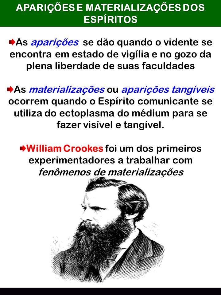 APARIÇÕES E MATERIALIZAÇÕES DOS ESPÍRITOS