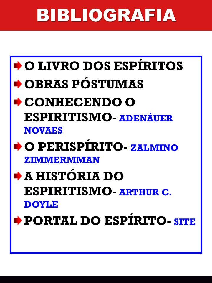 BIBLIOGRAFIA O LIVRO DOS ESPÍRITOS OBRAS PÓSTUMAS