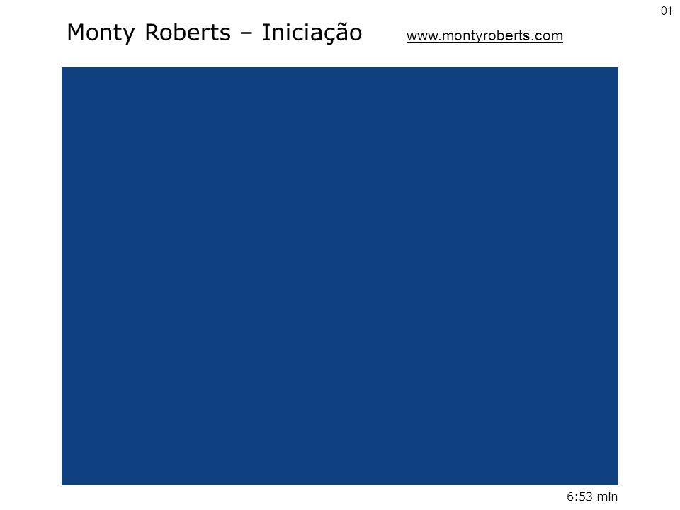 Monty Roberts – Iniciação www.montyroberts.com
