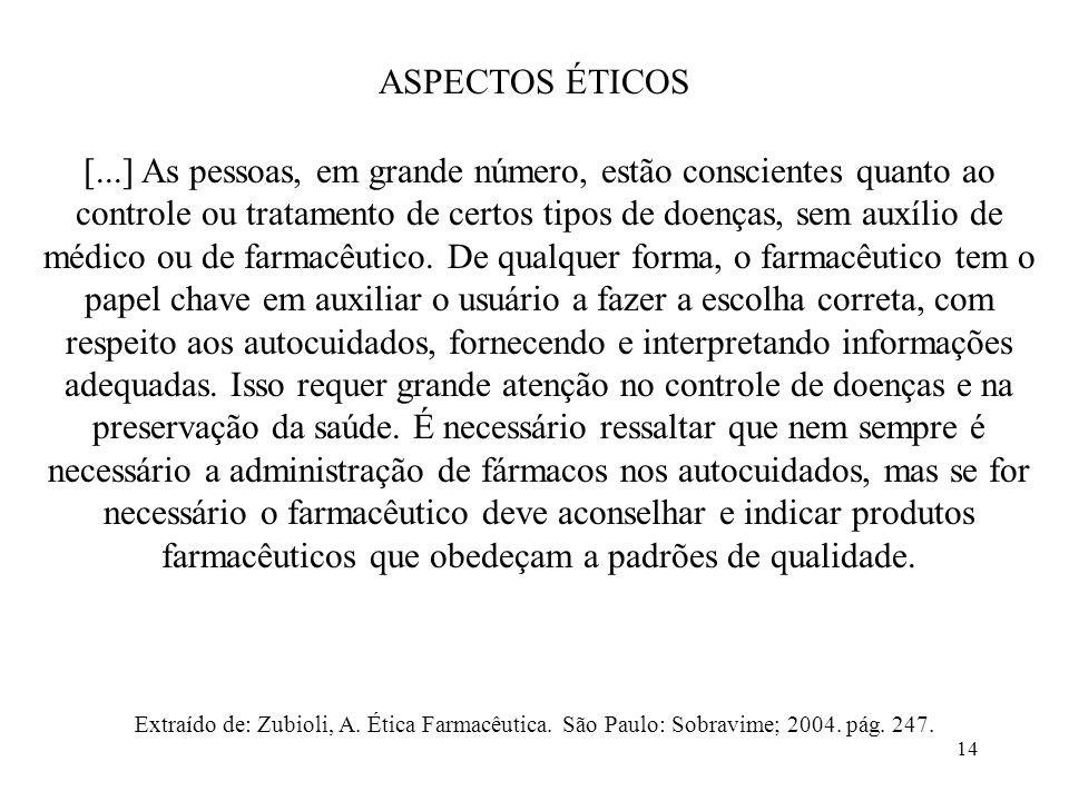 ASPECTOS ÉTICOS