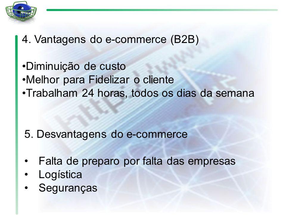4. Vantagens do e-commerce (B2B)