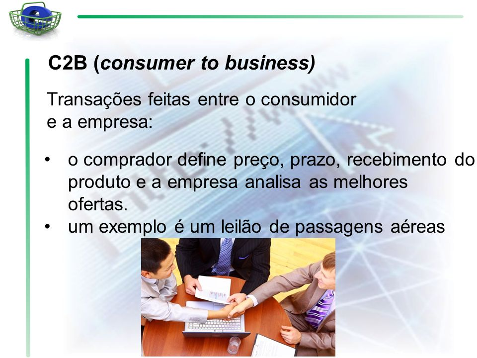 C2B (consumer to business)