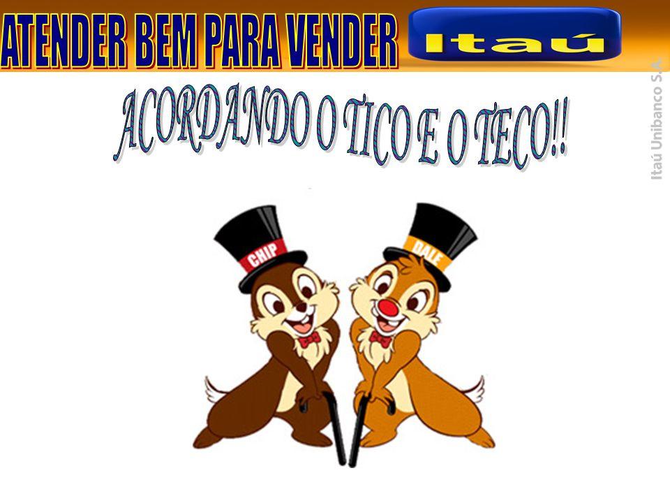 ACORDANDO O TICO E O TECO!!