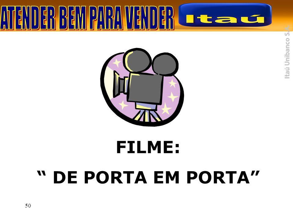FILME: DE PORTA EM PORTA
