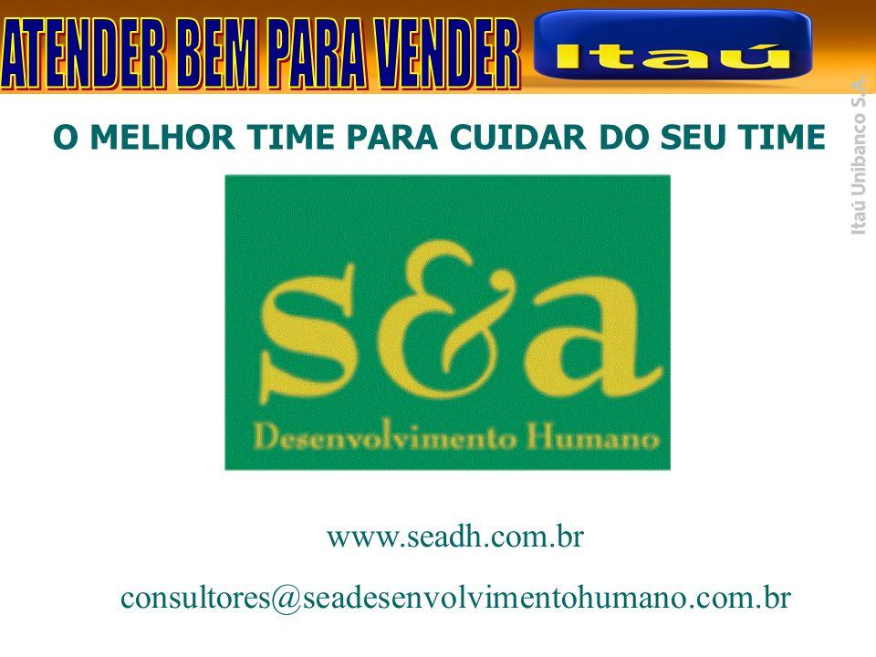 O MELHOR TIME PARA CUIDAR DO SEU TIME