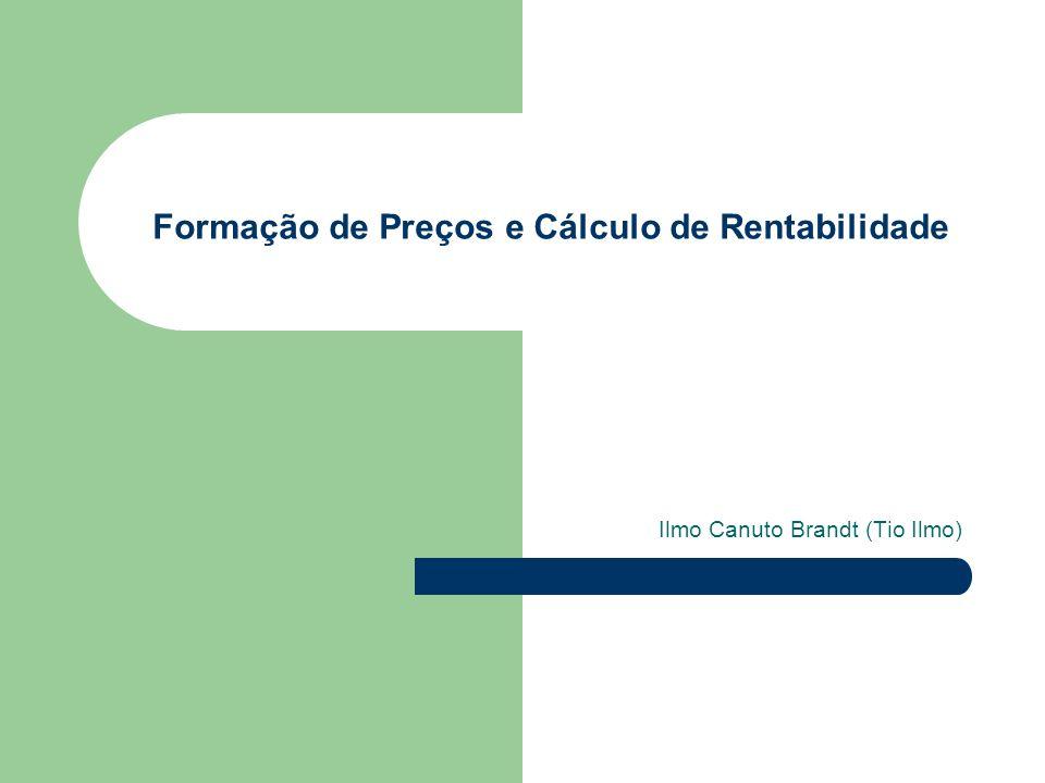 Formação de Preços e Cálculo de Rentabilidade
