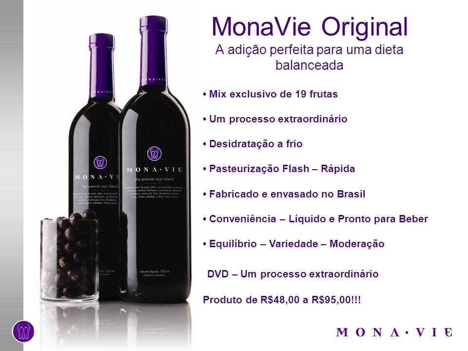 MonaVie Original A adição perfeita para uma dieta balanceada