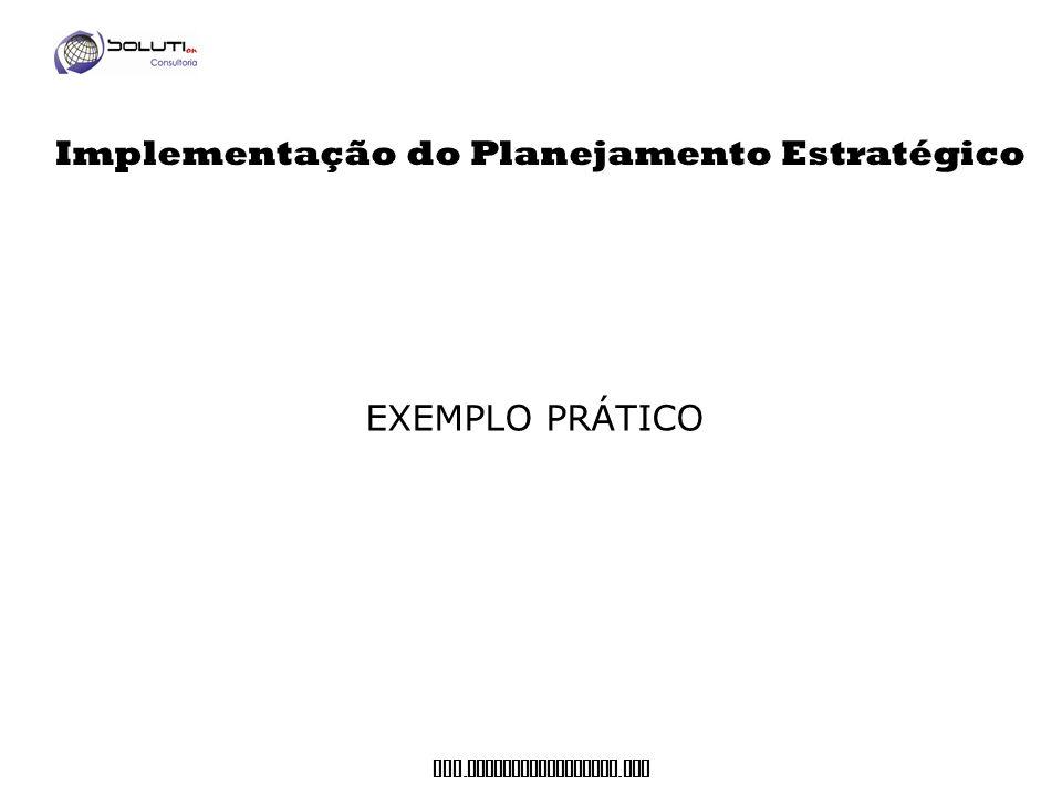 Implementação do Planejamento Estratégico