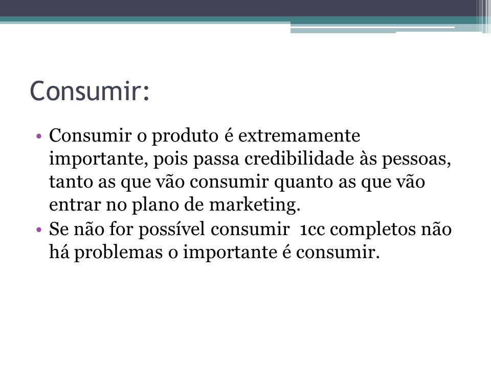 Consumir: