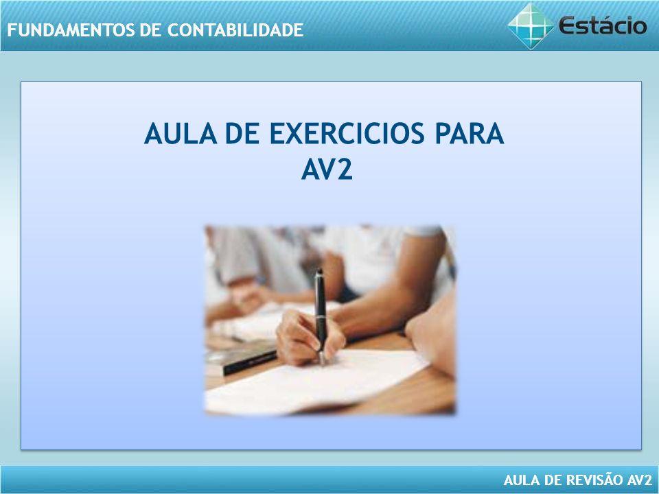 AULA DE EXERCICIOS PARA