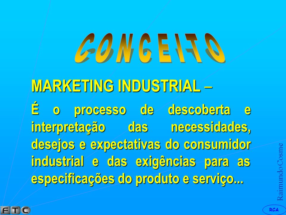 MARKETING INDUSTRIAL –