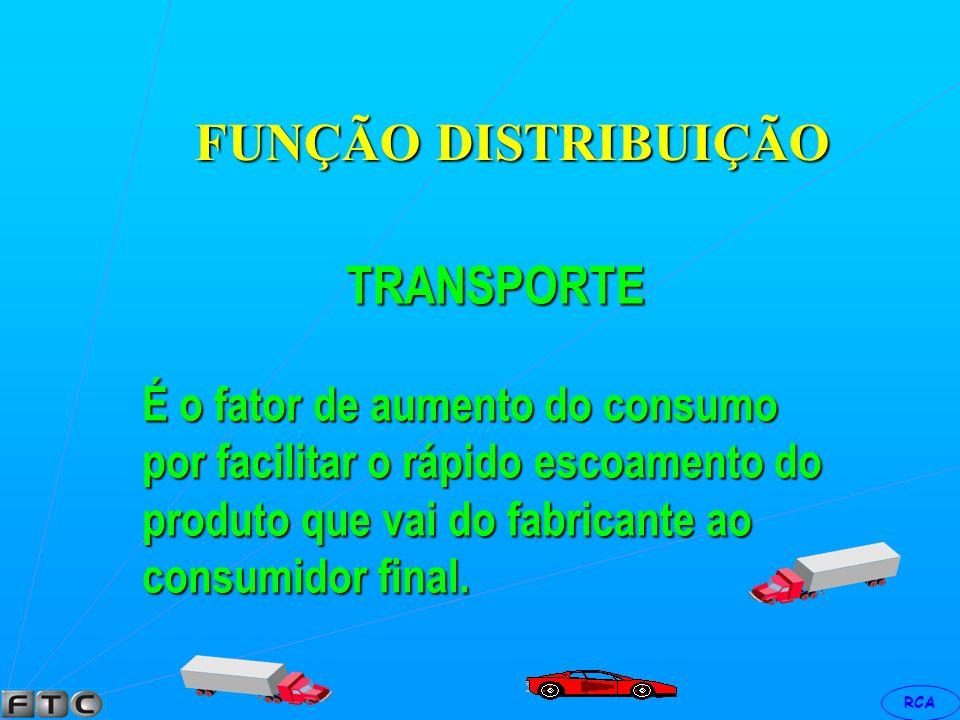 FUNÇÃO DISTRIBUIÇÃO TRANSPORTE