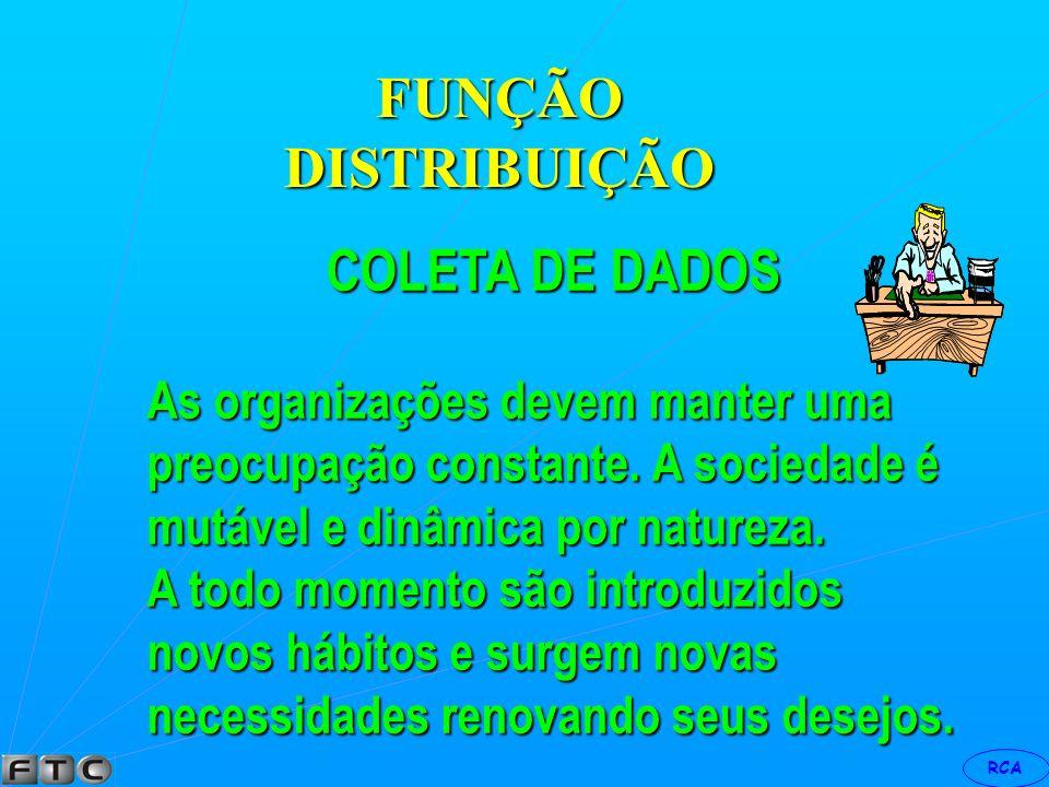 FUNÇÃO DISTRIBUIÇÃO COLETA DE DADOS