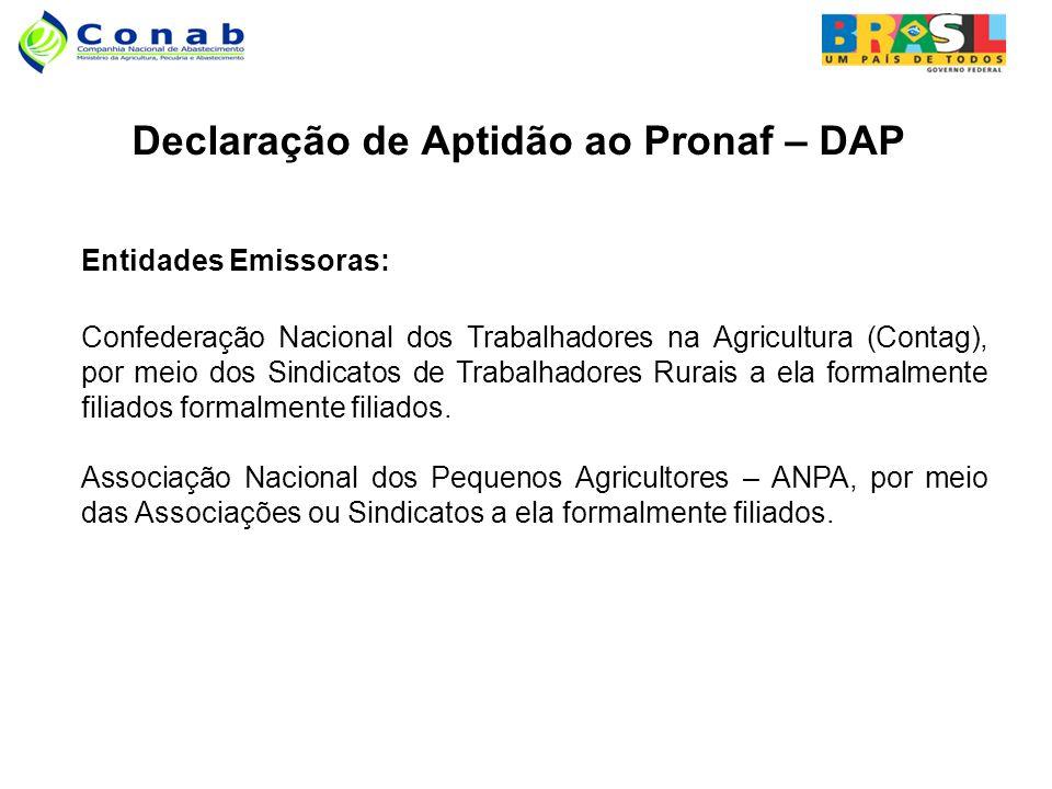 Declaração de Aptidão ao Pronaf – DAP