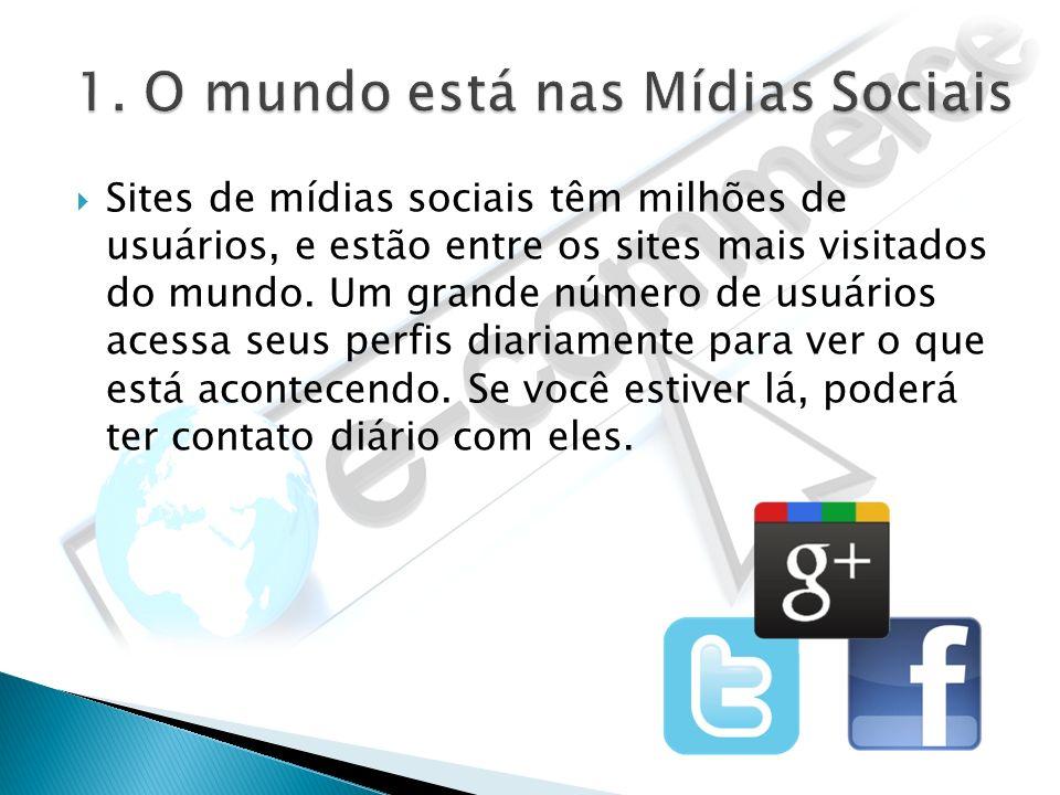 1. O mundo está nas Mídias Sociais