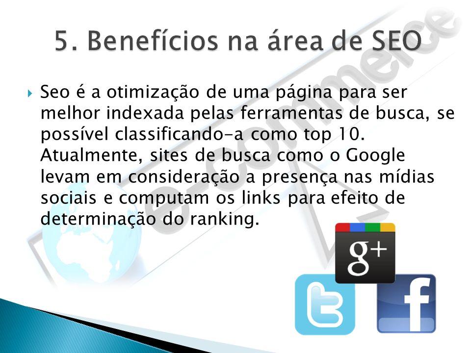5. Benefícios na área de SEO